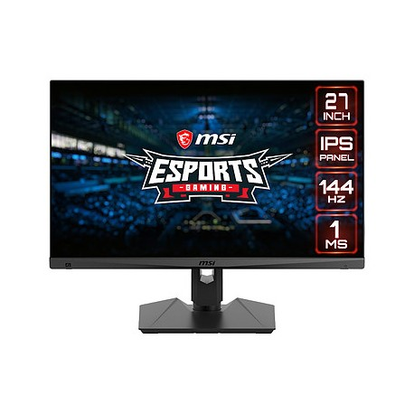 "MSI 27"" LED - Optix MAG274R 1920 x 1080 pixels - 1 ms (MPRT) - 16/9 - Dalle IPS"