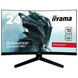 """iiyama 23.6"""" LED - G-MASTER G2466HSU-B1 Red Eagle  1920 x 1080 pixels - 1 ms"""