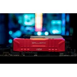 CRUCIAL Ballistix 16GB Kit DDR4 2x8GB 3600 CL16 DIMM 288pin red